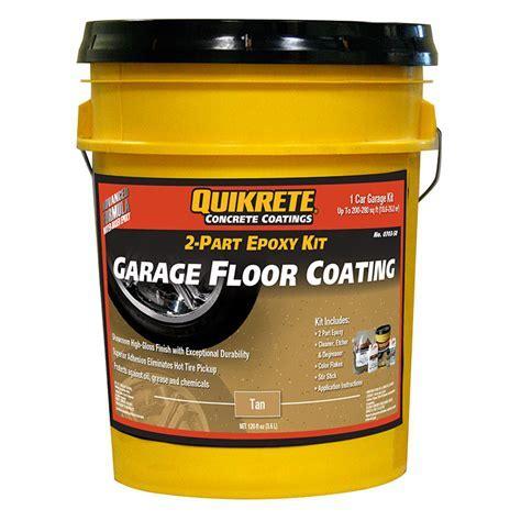 Quikrete Garage Floor 2 Part Epoxy Tan kit