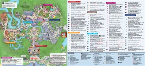 magic kingdom park map disney world map disney world