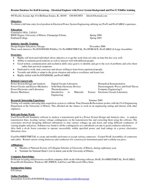 sle resume career objective finance graduate electric engineering resume sales engineering lewesmr