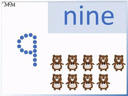Number Tracing Writing Nine Practice Trace Seven