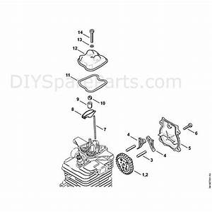 Stihl Br 700 Backpack Blower  Br 700  Parts Diagram  B