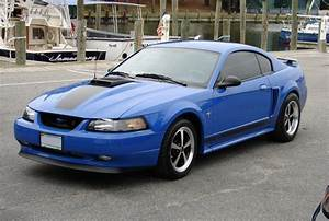 Azure Blue 2003 Mach 1 Ford Mustang Coupe - MustangAttitude.com Photo Detail