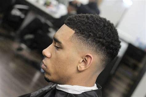 afro taper fade haircut mens hairstyles haircuts