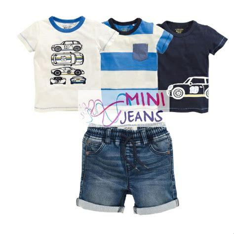 jual baju anak laki laki import stelan 4in1