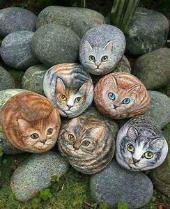 Steine Bemalen Katze : bilderparade cdlxxviii bilder die die welt bedeuten art pinterest ~ Watch28wear.com Haus und Dekorationen