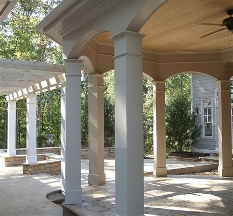 porch columns traditional patio other metro by