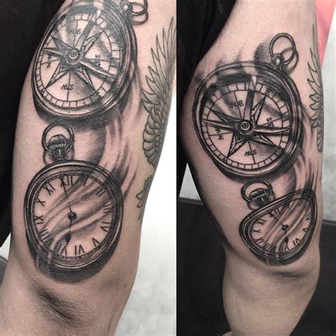 Tatouage Boussole Avant Bras Tatouage Des Vents Et Boussole Signification Et Id 233 Es En 25 Tattoos