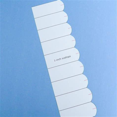 card making idea scalloped edge card tutorial greeting
