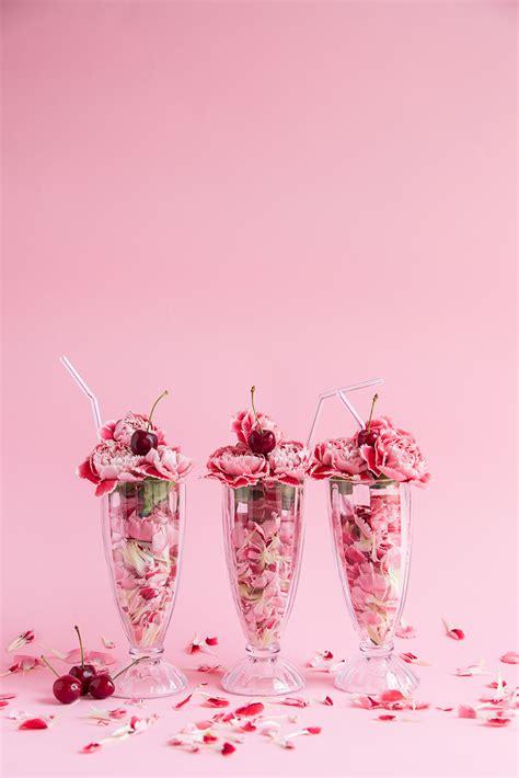 flower ice cream sundae pictures   images