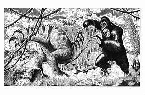 King Kong Vs. T-Rex by SasaBralic on DeviantArt