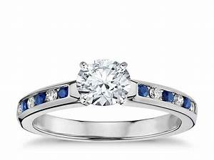 why choose diamond and sapphire engagement rings With wedding ring with sapphires and diamonds