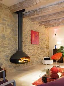 Paxfocus, Modern, Wall, Mounted, Wood, Fireplace