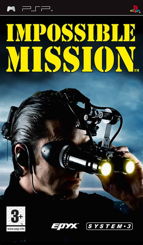impossible mission playstation portablepsp isos rom