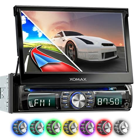 autoradio mit navi 2 din autoradio mit dvd cd navigation navi gps bluetooth 7 quot bildschirm usb sd mp3 1din ebay