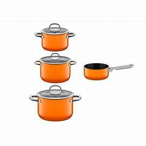 Topfset Induktion Silit : silit passion orange topfset 4 teilig silargan induktion glasdeckel kochtopfset ebay ~ Yasmunasinghe.com Haus und Dekorationen