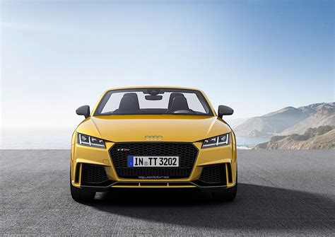 2017 Audi Tt Rs Roadster And Coupe Bow In Beijing With 400
