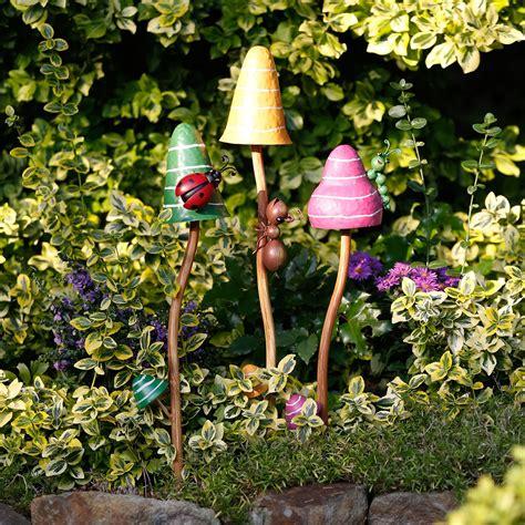 Gartendeko Pilze by Gartenstecker Bunte Pilze 3er Set Kaufen Bei
