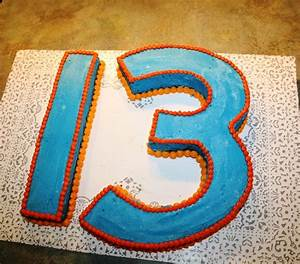 Best Photos of Number 13 Cake - Number 13 Birthday Cake ...