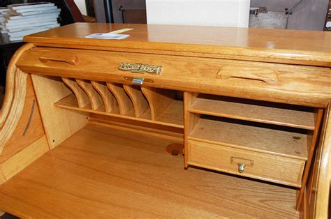 from antique to chic roll top desk diy juvenile hall