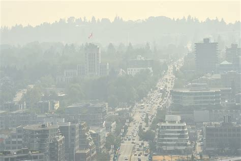 An air quality advisory issued over metro vancouver earlier this week continues to remain in place. 2017 saw record number of air quality advisories - Vancouver Is Awesome