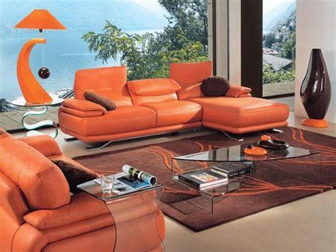 canap relax electrique château d 39 ax canapé photo 5 25 un canapé orange dans