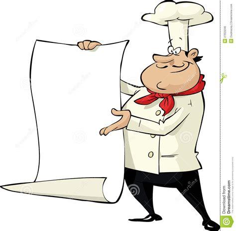 dessin animé de cuisine cuisinier de dessin animé illustration de vecteur image