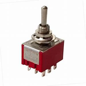 4 99 - 9 Pin Toggle Switch  3pdt