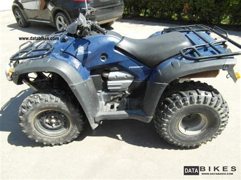 2008 Honda Foreman Trx 500 2wd Course Of Lasing