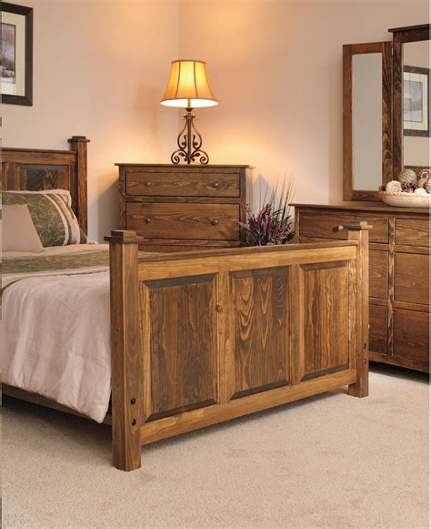 pine wood shaker bedroom set  dutchcrafters amish furniture