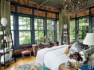 Gorgeous, 50, Rustic, Lake, House, Bedroom, Decorating, Ideas