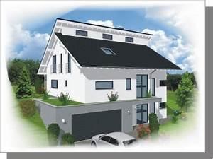 Garage Im Keller : hanghaus mit garage im keller wohn design ~ Markanthonyermac.com Haus und Dekorationen