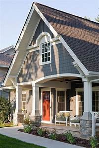 house color ideas Exterior Paint Color Ideas. Sherwin Williams SW 7061 Night Owl. #SherwinWilliams #SW7061 # ...