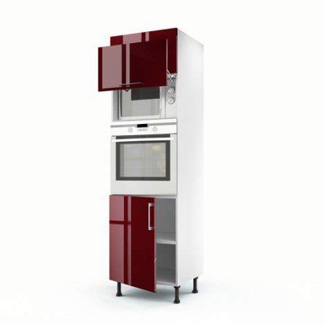 meuble cuisine pour four et micro onde meuble cuisine colonne four micro onde maison et mobilier d 39 intérieur