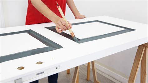 Peindre Une Porte Comment Peindre Une Porte Peintures De Couleurs Pour Les Int 233 Rieurs Et Les Ext 233 Rieurs