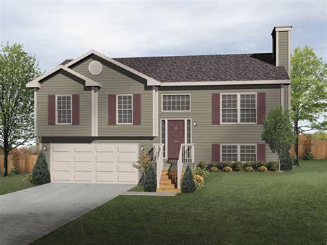 front porch designs for split level homes oaklawn split level home plan 058d 0069 house plans and more