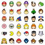 Super Character Smash Bros Ultimate Icon Icons