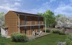 maison a energie positive b lhenry architecture With maison a energie positive