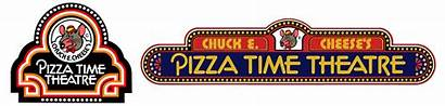 Pizza Theatre Logos History Chuck Cheese 1977