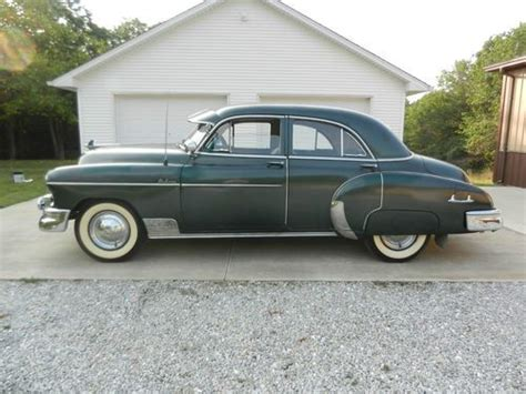 Sell Used 1950 Chevrolet Deluxe All Original Four Door