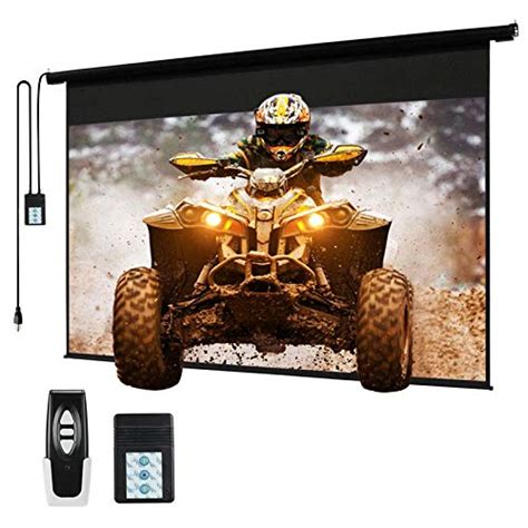 Top 10 Best Motorized Projector Screen of 2021 Review
