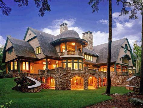 luxury mountain craftsman home plans designs house plans