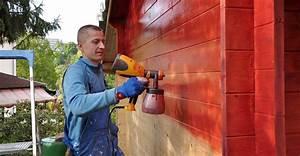 Pistolet À Peinture Électrique : peindre au pistolet peinture ~ Dallasstarsshop.com Idées de Décoration