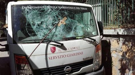 ufficio giardini comune di roma roma sette attacchi al servizio giardini comune quot c 232