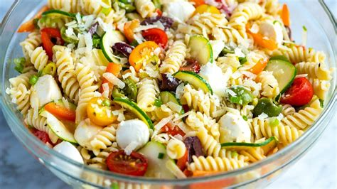 Subscribe to our weekly newsletter. Recipe: Yummy Low Fat Pasta Salad - Easy Food Recipes Ideas