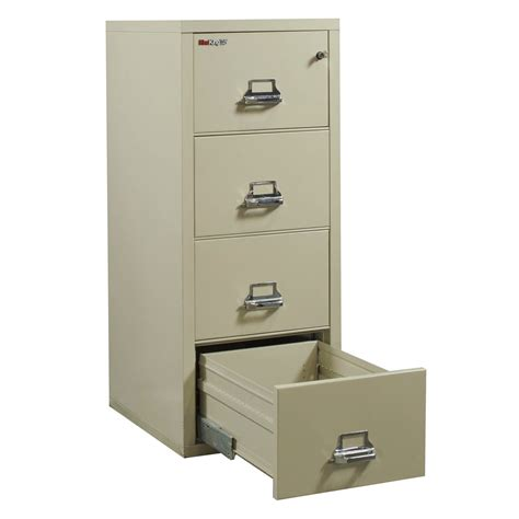 4 Drawer Vertical File Cabinet by Fireking 25 Used 4 Drawer Vertical File Cabinet