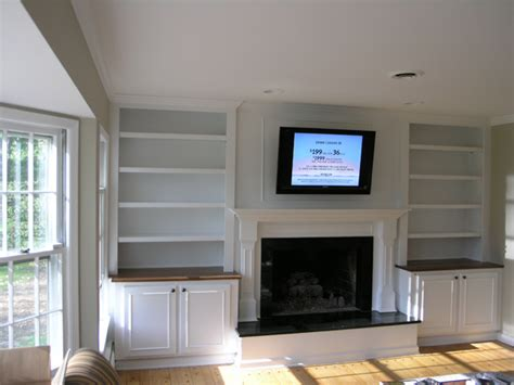 Built In Bookcase Around Fireplace by Hudson Valley Ny Remodeling Contractors Agape