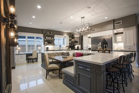 u shaped kitchens with islands exquisite home set for the rich and california home