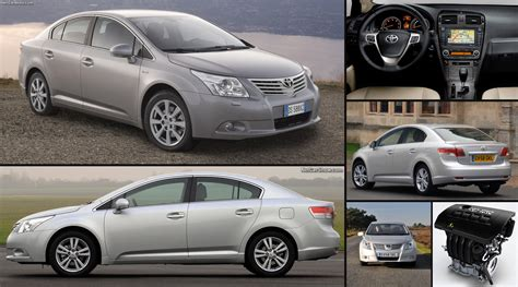 toyota avensis  pictures information specs