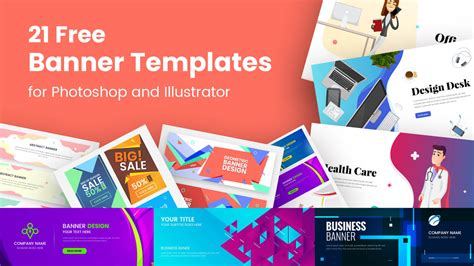 banner templates  photoshop  illustrator