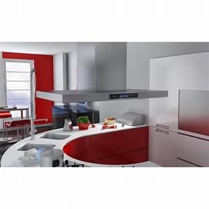 Hotte De Cuisine But : hotte aspirante de cuisine pour ilot ultra acier achat ~ Premium-room.com Idées de Décoration